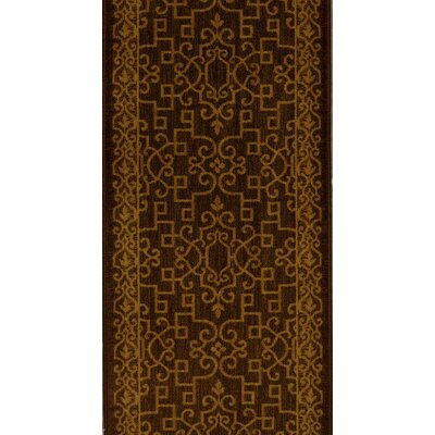 Sira Espresso Area Rug Rug Size: Runner 27 x 8