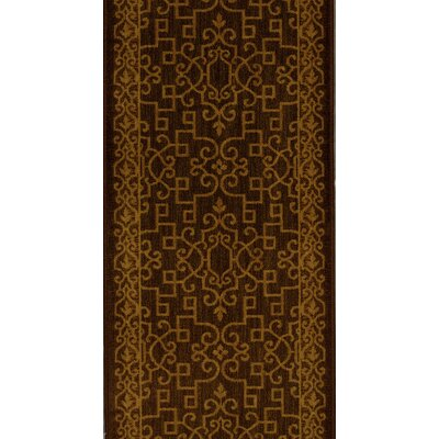 Sira Espresso Area Rug Rug Size: Runner 27 x 12