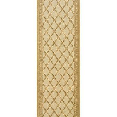 Sircilla Yellow Area Rug Rug Size: Runner 27 x 6
