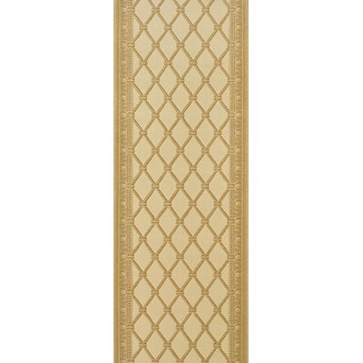 Sircilla Yellow Area Rug Rug Size: Runner 27 x 8