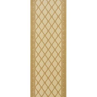 Sircilla Yellow Area Rug Rug Size: Runner 22 x 6