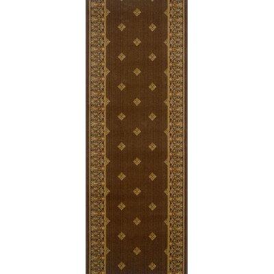 Fatehgarh Brown Area Rug Rug Size: Runner 22 x 10