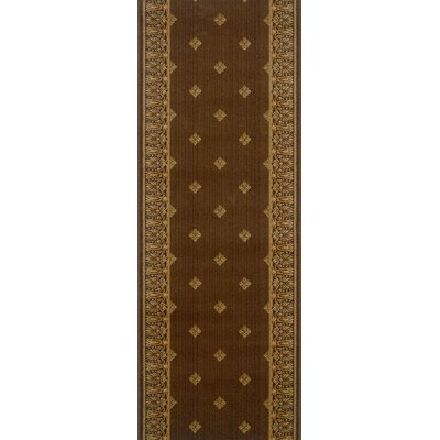 Fatehgarh Brown Area Rug Rug Size: Runner 22 x 12