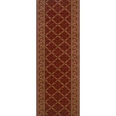 Sitarganj Red Area Rug Rug Size: Runner 27 x 15