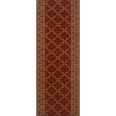 Sitarganj Red Area Rug Rug Size: Runner 22 x 8