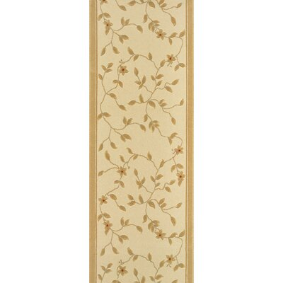 Sivagiri Ivory Area Rug Rug Size: Runner 27 x 8