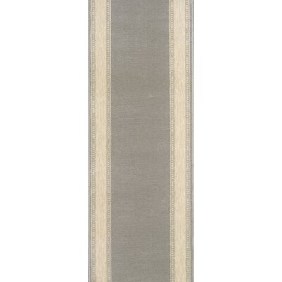 Sohagpur Gray Area Rug Rug Size: Runner 22 x 15