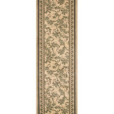 Solan Brown Area Rug Rug Size: Runner 22 x 15