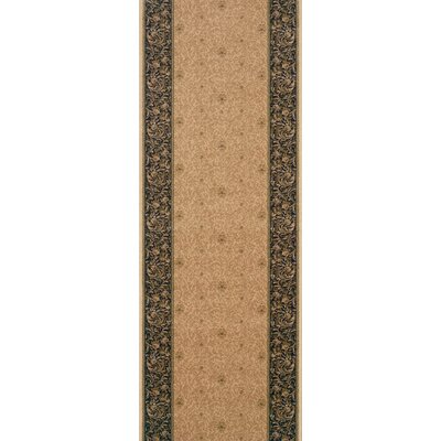 Sonamukhi Brown Area Rug Rug Size: Runner 27 x 8