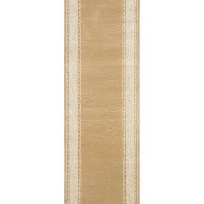 Songadh Tan Area Rug Rug Size: Runner 22 x 15