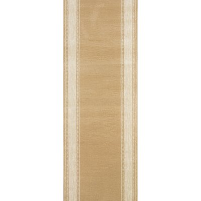 Songadh Tan Area Rug Rug Size: Runner 27 x 15