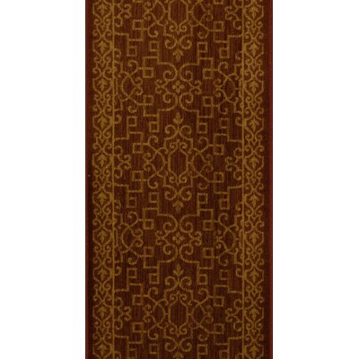Sopore Brown Area Rug Rug Size: Runner 27 x 8
