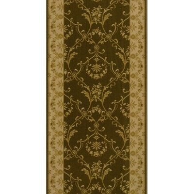 Soron Brown Area Rug Rug Size: Runner 27 x 15