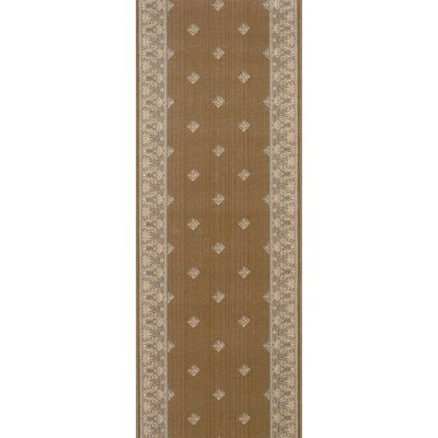 Soyagaon Brown Area Rug Rug Size: Runner 27 x 10