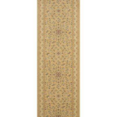 Sri Taupe Area Rug Rug Size: Runner 27 x 6