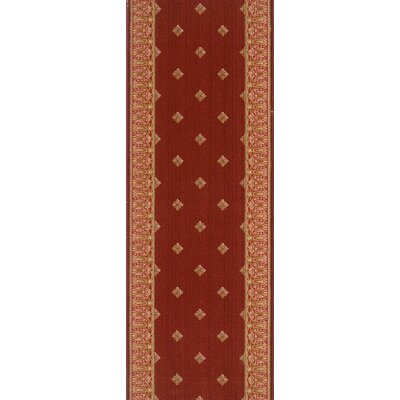 Madhopur Red Area Rug Rug Size: Runner 27 x 8