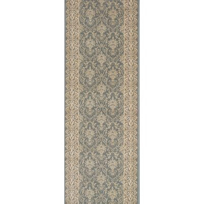 Srivilliputhur Blue Area Rug Rug Size: Runner 22 x 15