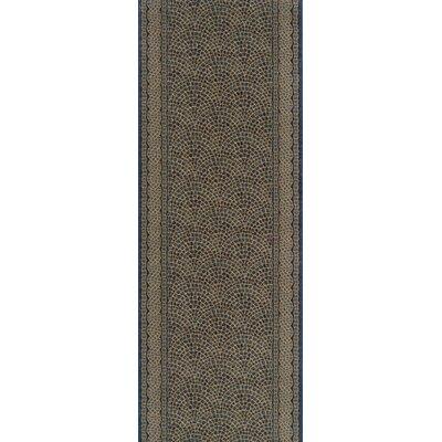 Sugauli Gray Area Rug Rug Size: Runner 22 x 15