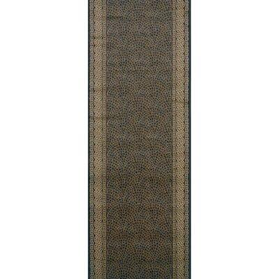 Sujangarh Black Area Rug Rug Size: Runner 27 x 10