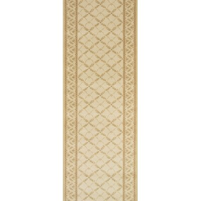 Sultanganj Beige Area Rug Rug Size: Runner 27 x 6