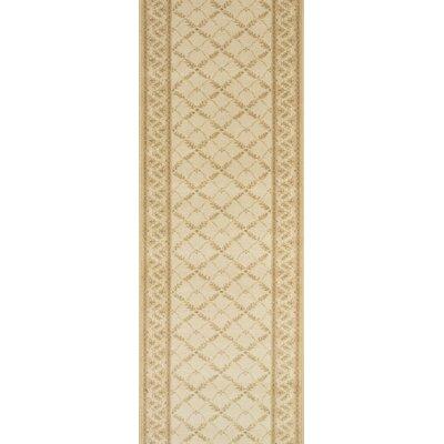 Sultanganj Beige Area Rug Rug Size: Runner 22 x 15