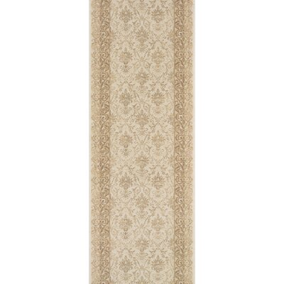 Sullurpeta Ivory Area Rug Rug Size: Runner 22 x 10