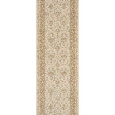 Sullurpeta Ivory Area Rug Rug Size: Runner 22 x 8