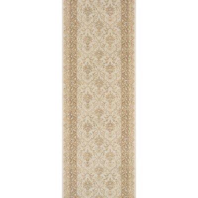 Sullurpeta Ivory Area Rug Rug Size: Runner 22 x 15