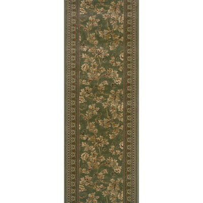 Sunabeda Green Area Rug Rug Size: Runner 22 x 15