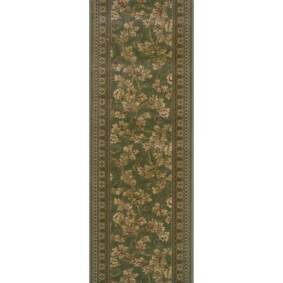 Sunabeda Green Area Rug Rug Size: Runner 22 x 6