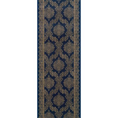 Sundargarh Blue Area Rug Rug Size: Runner 22 x 15