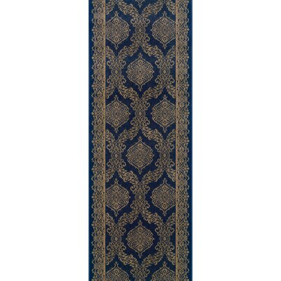 Sundargarh Blue Area Rug Rug Size: Runner 22 x 8