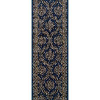 Sundargarh Blue Area Rug Rug Size: Runner 27 x 8