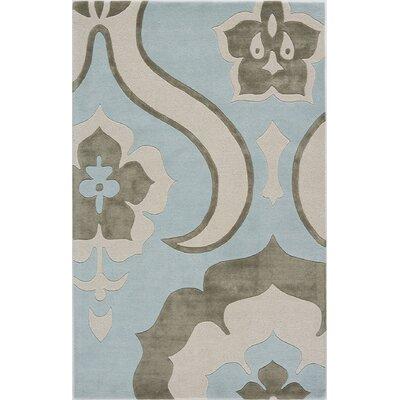 Talaja Hand-Tufted Blue Area Rug Rug Size: 16 x 23