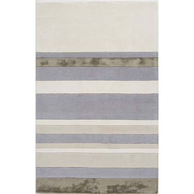 Talegaon Hand-Tufted Lavender/Ice Area Rug Rug Size: 5 x 8