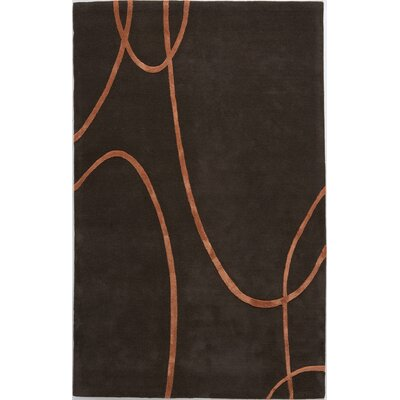 Talode Hand-Tufted Brown Area Rug Rug Size: 8 x 11