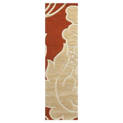 Tanuku Hand-Tufted Rustic/Beige Area Rug Rug Size: Runner 23 x 8