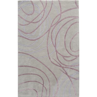 Tekkalakote Hand-Tufted Gray Area Rug Rug Size: 4 x 6
