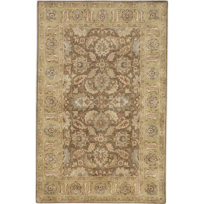 Kathhara Hand-Tufted Brown Area Rug Rug Size: 5 x 8