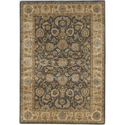 Tharad Hand-Tufted Multi-Colored Area Rug Rug Size: 16 x 23