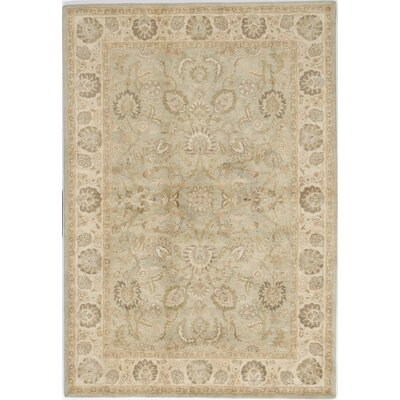 Thiruvarur Hand-Tufted Brown/Tan Area Rug Rug Size: Round 5'