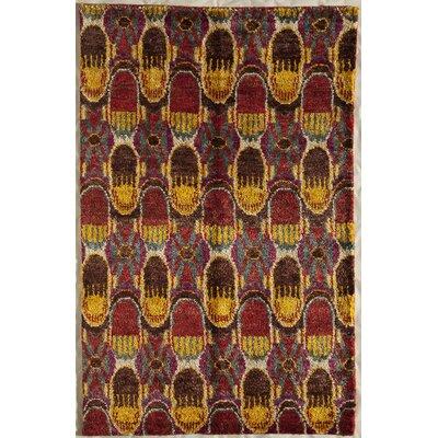 Tirur Hand-Woven Area Rug Rug Size: 7 x 9