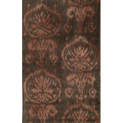 Tittakudi Handmade Brown/Rust Area Rug Rug Size: Runner 23 x 8