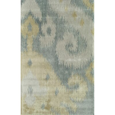 Todaraisingh Handmade Gray/Tan Area Rug Rug Size: 8 x 10