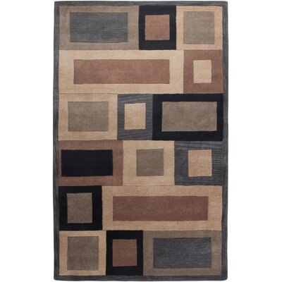 Umbergaon Hand-Tufted Blue Area Rug Rug Size: 5 x 8