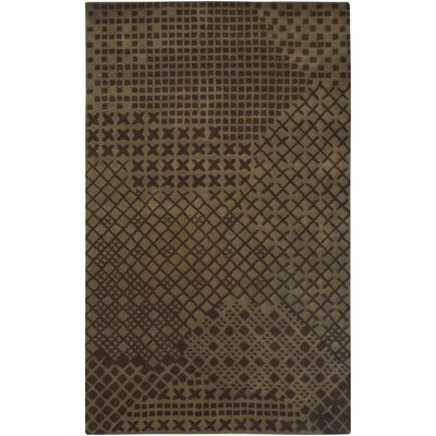 Umreth Hand-Tufted Brown Area Rug Rug Size: 5 x 8