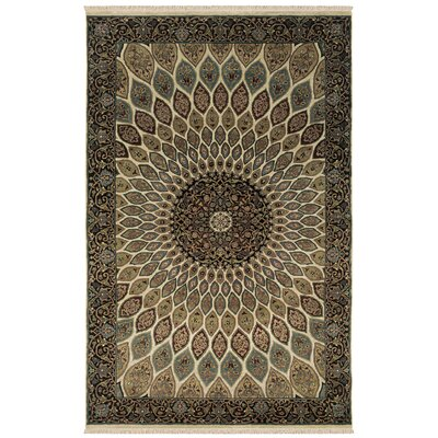 Una Hand-Knotted Area Rug Rug Size: Rectangle 10 x 14