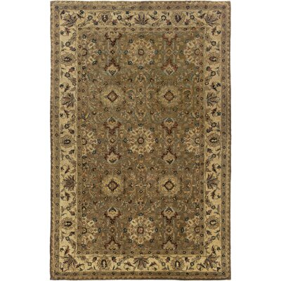 Urmar Hand-Tufted Brown Area Rug Rug Size: Round 8