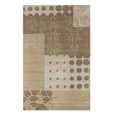 Vadgaon Hand-Tufted Beige Area Rug Rug Size: 9 x 12