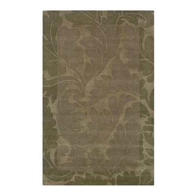 Vadipatti Hand-Tufted Green Area Rug Rug Size: 3 x 5